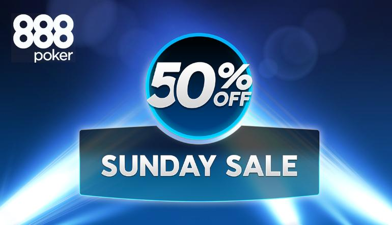 Sunday Sale 888poker