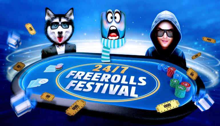 Freerolls Festival 888poker