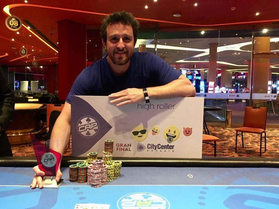 Photo of CAP Rosario: Franco Gasparini se hizo con el High Roller 40K