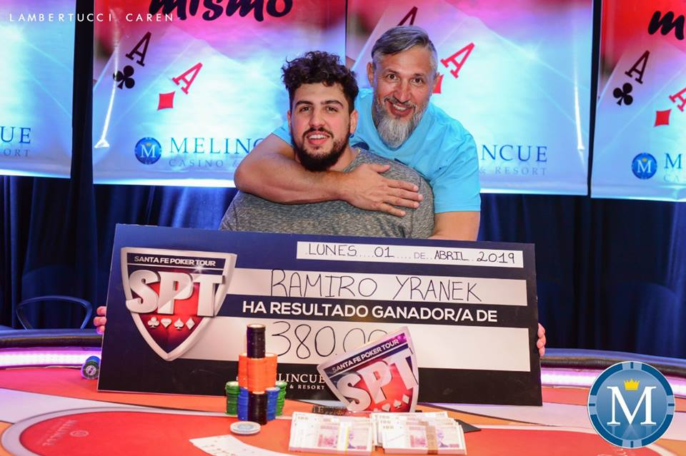 Photo of Ramiro Yranek es el primer campeón del Santa Fé Poker Tour 2019