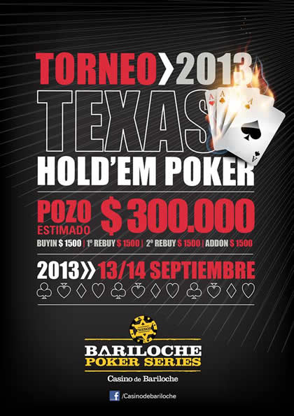 Photo of Bariloche Poker Series 2013- 13/14 Septiembre