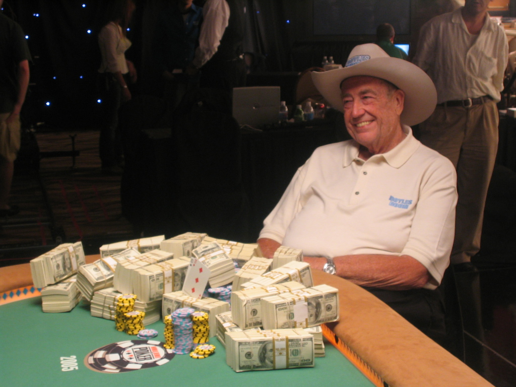 Photo of Doyle Brunson repasa sus series favoritas y elige nuevas