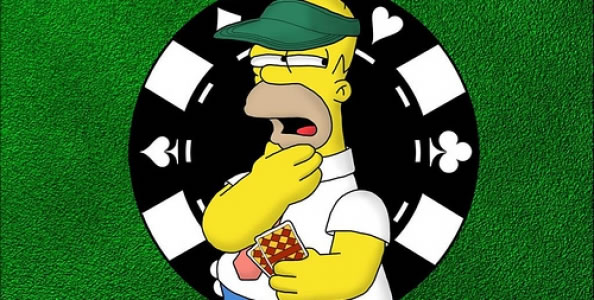 Photo of Poker en los Simpsons: Homero Fish y Moe en tilt