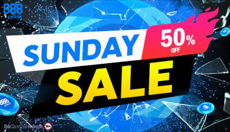 Photo of ¡El Domingo vuelve el Sunday Sale en 888poker!