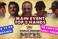 Photo of VIDEO: Las 5 Mejores Manos del Main Event de la WSOP 2005
