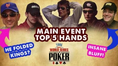 Photo of VIDEO: Las 5 mejores manos del Main Event de la WSOP 2006