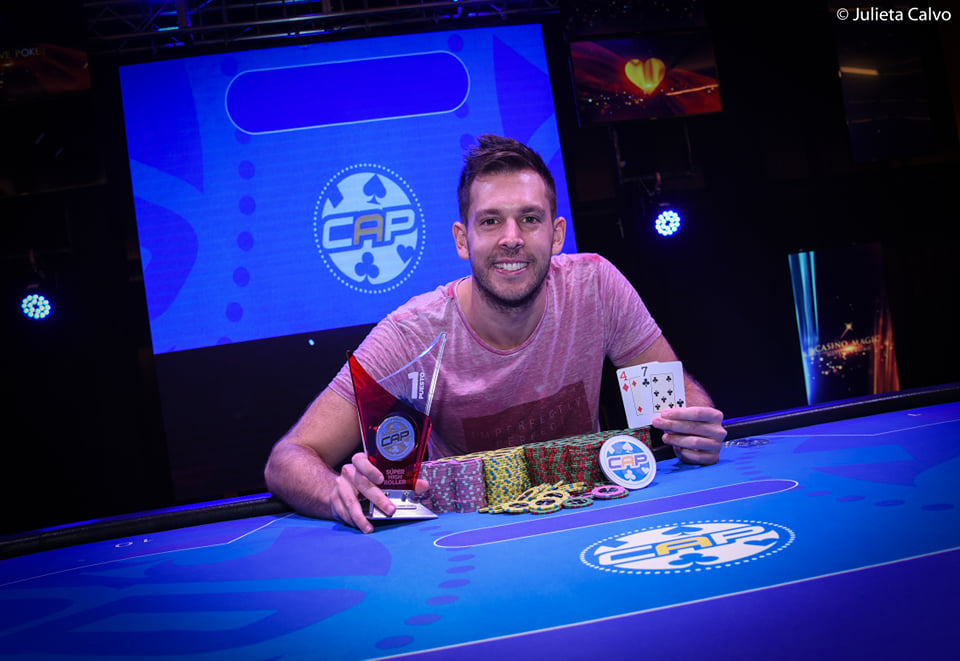Photo of CAP Rosario: Marco Zévola campéon del Super High Roller
